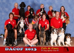DACOF 2013 Pals and Paws Team